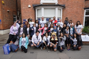 Fosse's 10 mile charity walk